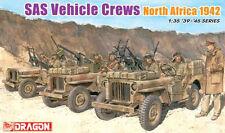 "Dragon 1/35 #6682 SAS Vehicle Crews ""North Africa 1942"""