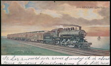 LAKE SHORE & MICHIGAN SOUTHERN RAILWAY 20th Century Limited RR Antique Postcard
