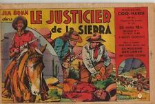 COQ HARDI MAGAZINE N° 54 LE JUSTICIER DE LA SIERRA AVEC JIM BOUM