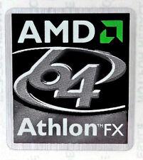 AMD Athlon 64 FX Sticker 22.5 x 25mm Case Badge Logo Label USA Seller