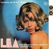 "Gianfranco Intra-Lea (sigla tv ""Secondo Lea"")/Camelot (OST) 45 giri NM con punti"