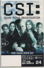 CSI Crime Scene Investigation Free Comic book day 2004 one-shot very fine