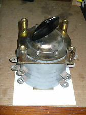 Electro Switch 107604a 2as Snap Action Rotary Switch 200 Amp 600 Volt Used