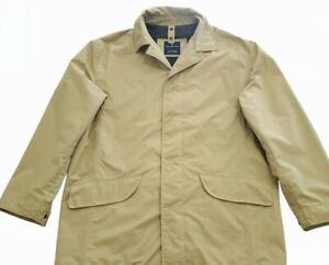 Zegna Microtene 10000 Rainproof Sport Jacket Men Lama Wool Mix Beige M BIG TALL