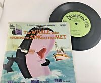 The Whale Who Wanted to Sing at the Met See Hear Read 45 Record and Book