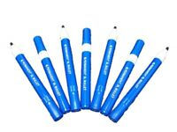 BRAND NEW BLUE BULLET TIP PERMANENT MARKER PENS *SPECIAL* / STANDARD QUALITY