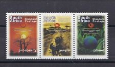 Sud Africa South Africa 2002 Summit mondiale sullo sviluppo senza valore    MNH