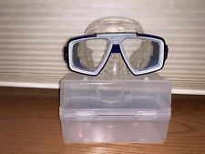 Scuba And Snorkel Mask Blue Dual Lens ***Package Discount***