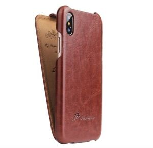 Original Fashion Leather Flip Cover Case for Apple Iphone 7 8 X XS XR XS MAX