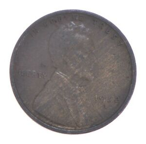 Semi Key 1922-D VF/XF Lincoln Wheat Cent - Sharp *424