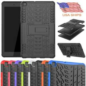 """For Samsung Galaxy Tab A 8"""" SM-T290 T295 Shockproof Hard Rugged Stand Case Cover"""