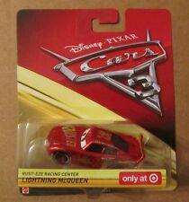Disney Pixar Cars 3 RUST-EZE RACING CENTER LIGHTNING MCQUEEN ~ NIP ~ Target