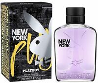 PLAYBOY NEW YORK by PLAYBOY Cologne for Men 3.4 oz edt Spray NEW IN BOX