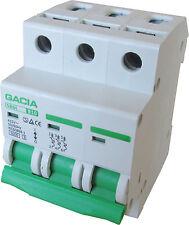 Leitungsschutzschalter GACIA SB6L 3P B10A, Sicherungsautomat MCB