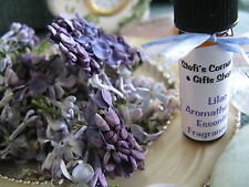 NEW NATURAL LILAC AROMATHERAPY PERFUMED 4ml. FRAGRANCE OIL--ROMANTIC