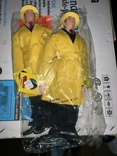 Pair Of 1990 Applause Dick Tracy Doll/Figures With Tags 14 Inch