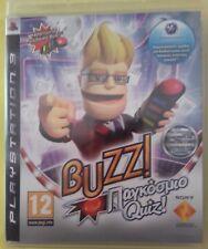 BUZZ / PS3 / PLAYSTATION / NO BUZZERS GREEK EDITION AUDIO / +MANUAL / PAL / 2009