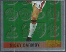MERLIN 1996-PREMIER LEAGUE 96 - #504-MIDDLESBROUGH-NICKY BARMBY-BOTTOM HALF-FOIL