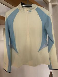Brooks Damen Equilibrium Langarm Funktionsshirt Laufshirt Sport Line Gr. L NEU