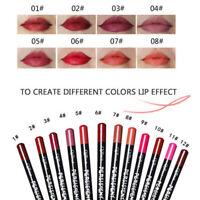 12pcs/Set Waterproof Long Lasting Lip Liner Pencil Makeup Lipliner Set 12 Colors