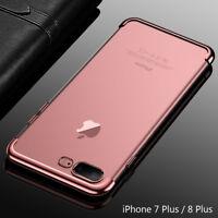 Housse Etui Coque Bumper Case Cover Apple iPhone 7 Plus / 8 Plus  Rose Doré