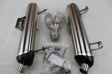 TWO BROS DUAL SKIP ON EXHAUST FOR 2015-2019 SR1 SS/SS RZR4 XP1000 #594751