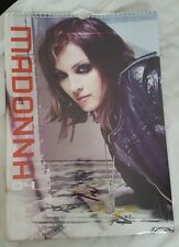 Rare UK Madonna calendar 2004 sealed