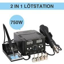 Regelbare Digitale Lötstation 861D Entlötkolben SMD Entlötstation 1000W TOP DE