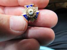 Alpha Phi Omega Fraternity Sorority Pin  (17H2)