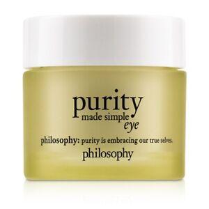 NEW Philosophy Purity Made Simple Eye Gel 15ml Womens Skin Care
