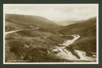 The Pass of Plynlimon,Ceredigion, Wales - Vintage Real Photographic Postcard