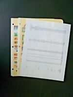 Worldwide Lot 111 Stamps in Stock Pages - Good Monaco - See Description