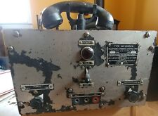 US Navy Military Ship Radio Transmitter Receiver WWII Telephone Vintage Old