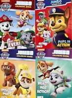 Paw Patrol Jumbo Coloring And Activity Book 4-Pack New