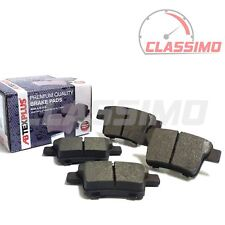 Rear Brake Pads for FORD MONDEO Mk 3 + JAGUAR X-TYPE - all models - 2004 to 2009