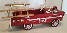 VINTAGE Murray Flat Face Fire FIGHTER ENGINE TRUCK PEDAL CAR;FIRE BALL BEARING