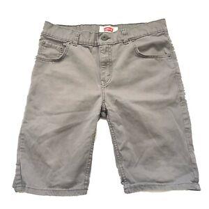 """Levi's Women's Chino Shorts Gray 30"""" Waist"""