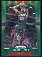 2019-20 Panini Prizm Basketball Deandre Ayton GREEN Parallel Refractor SP Suns