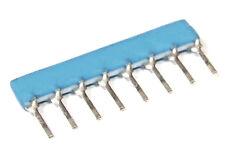 200x Murata 4.7K 4K7 Ohm Resistor Array Network Widerstandsnetzwerk SIP-8 4Y472J