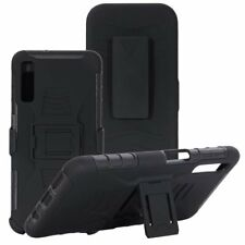 For Samsung Galaxy A9 2018 Shockproof Heavy Duty Stand Clip Case Cover & Holster
