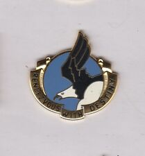 US ARMY 101st AIRBORNE DIVISION Air Assault crest DUI badge Clutchback D-22