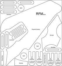 Revenge From Mars - RFM - Pinball Machine complete Mylar Set