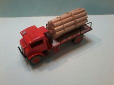 MODIFIED Trux 1/50 Chevrolet Blitz truck with log load on the back and is boxed