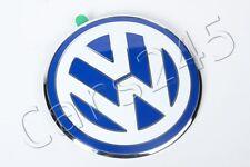 Original Volkswagen New Beetle 98-05 Heckklappe Emblem Zeichen weiß blau