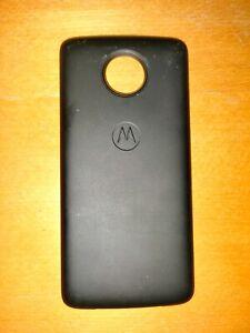 Motorola Moto Mod Power Pack (Black, 2220mAh, for All Moto Z Models, Excellent)