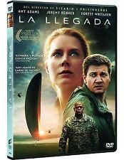 LA LLEGADA DVD NUEVO ( SIN ABRIR ) AMY ADAMS, JEREMY RENNER Y FOREST WHITAKER
