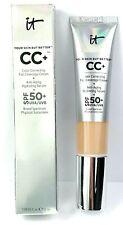 It Cosmetics CC+ Full Coverage Foundation LIGHT MEDIUM 1.08oz NEW