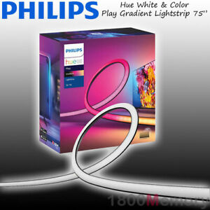 "Philips Hue White & Color Ambiance Play Gradient Lightstrip 75"" LED 304cm WiFi"