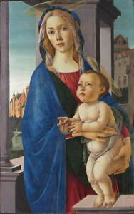Sandro Botticelli The Virgin and Child Giclee Paper Print Poster Reproduction