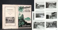 Cristiano-Sicilia Viaggio con Il ADAC 1925 auto Ralley Italia tecnica con busta!